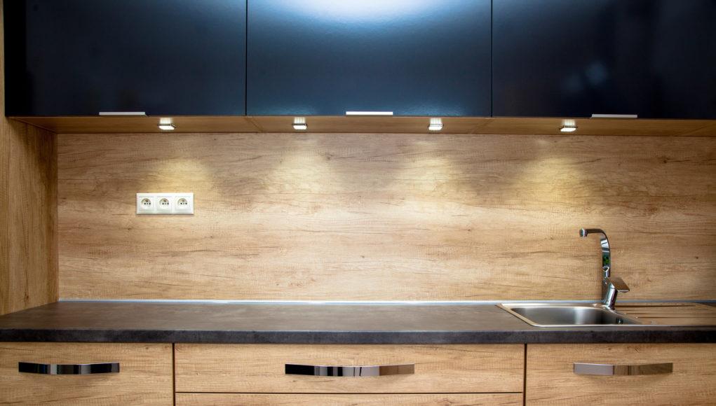 kitchen under cupboard lighting