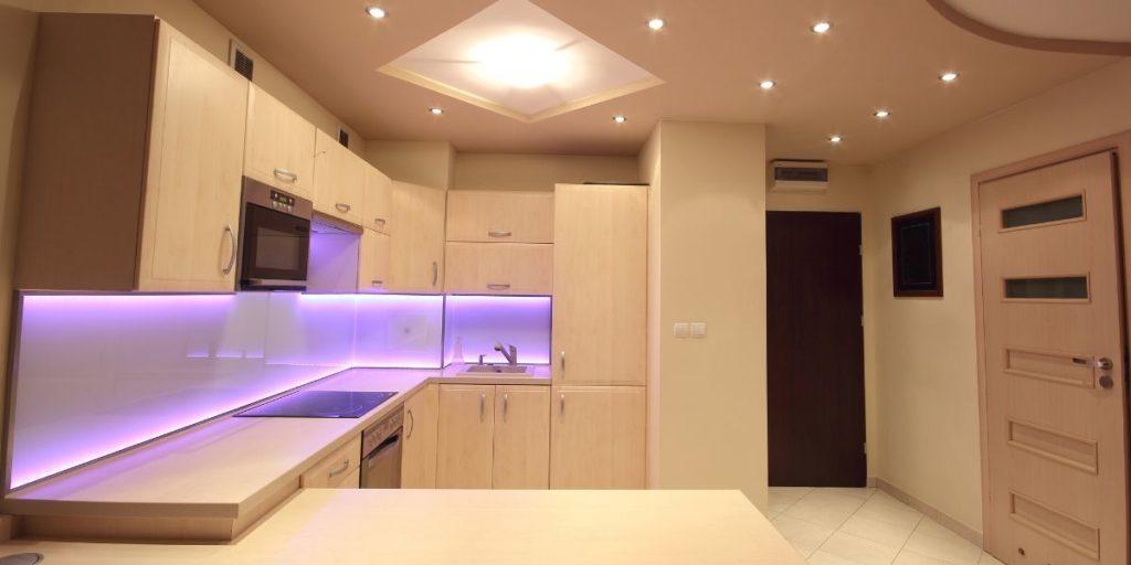 LED Tape Under Cabinet