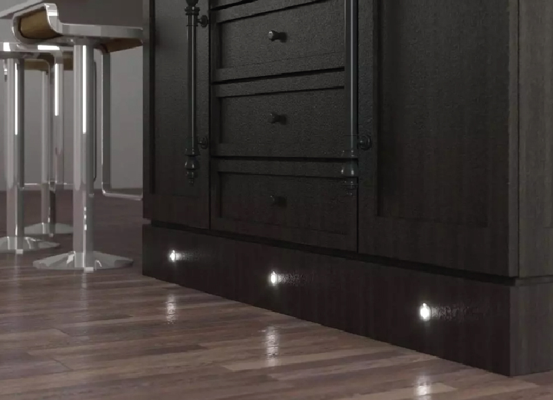 Buffet Cabinet with Plinth Lights