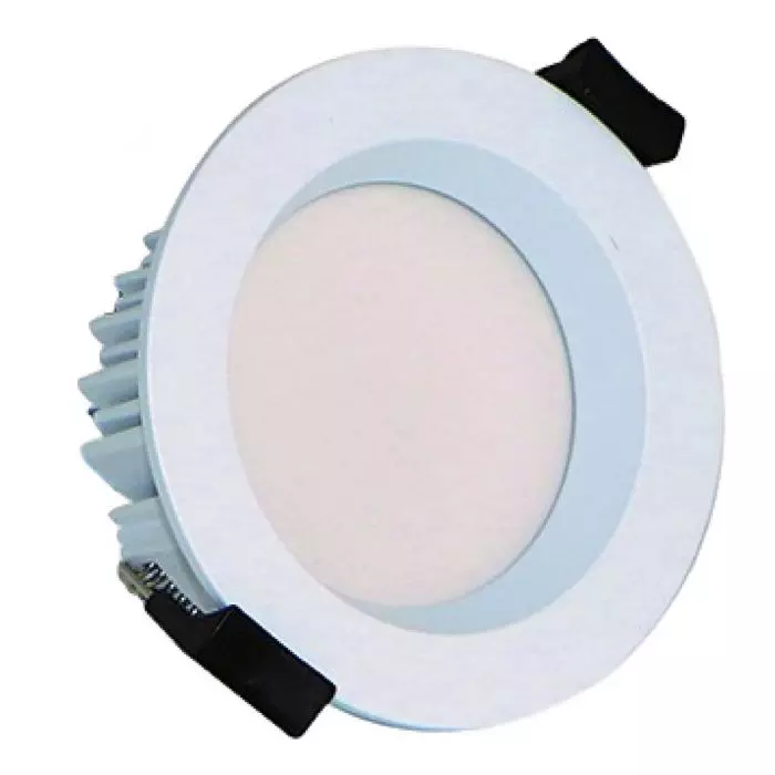 Simple Lighting: 8w Low Glare IP65 Short Can Dimmable Fire Rated Downlight