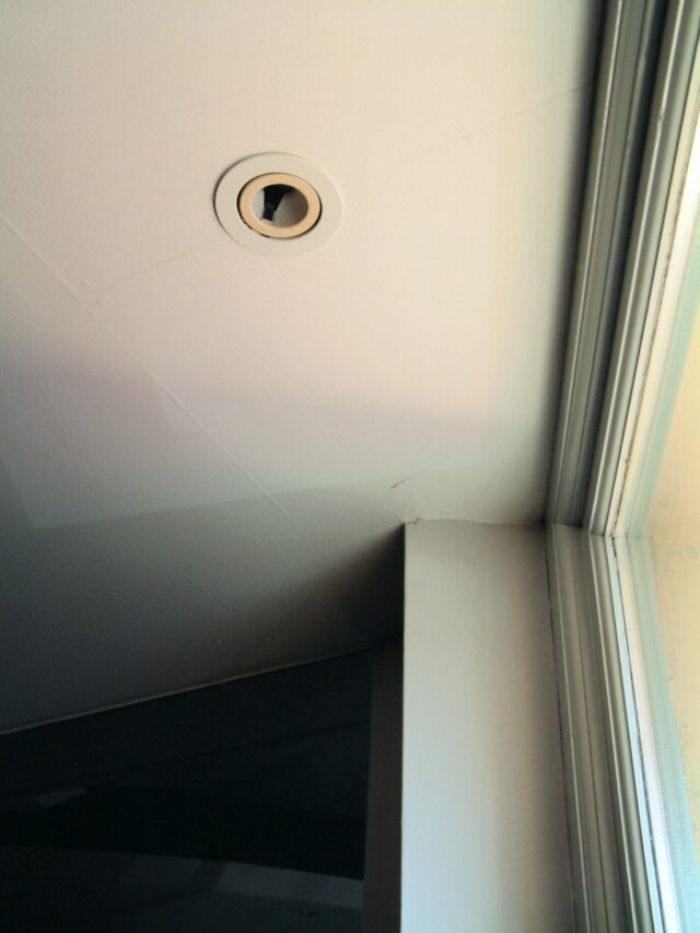empty downlighter socket