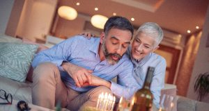 Simple Lighting Blog - Couple celebrating in a well lit room