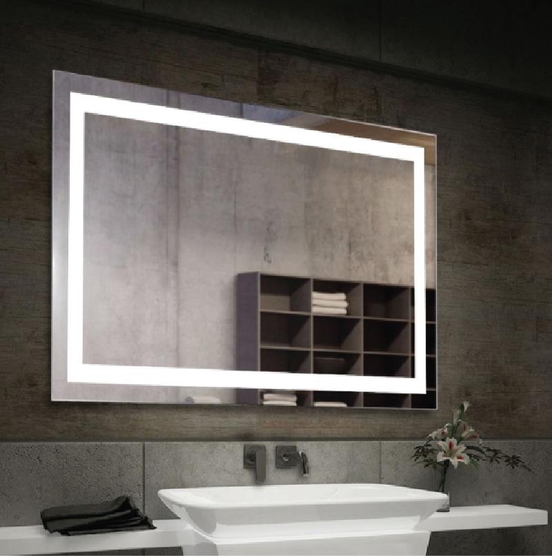 LED Bathroom Mirror with demystifier